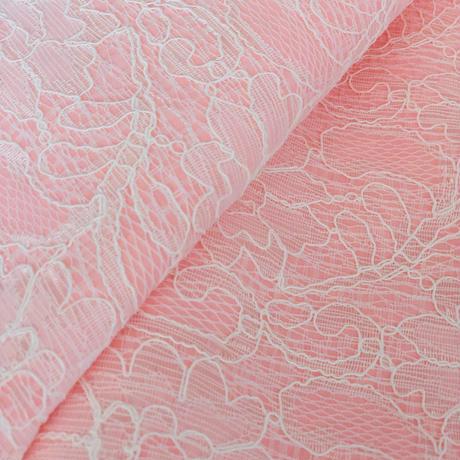 レースシフォン pink