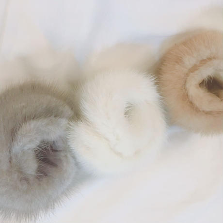 mink fur  BANGLE