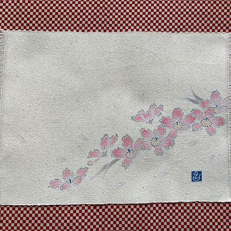 手描き友禅 卓布 (390×235ミリ)