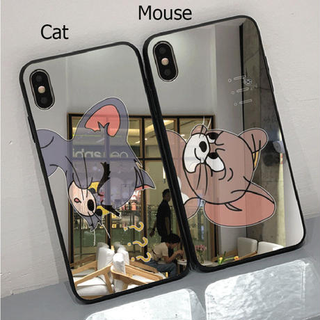 【N771】★ iPhone 6 / 6sPlus / 7 / 7Plus / 8 / 8Plus / X /XS /XR/Xs max★ シェルカバーケース TOM and JERRY