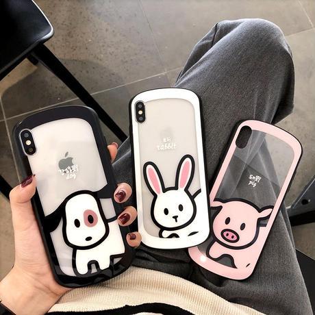 【N746】★ iPhone 6 / 6sPlus / 7 / 7Plus / 8 / 8Plus / X/ XS / XR/Xsmax ★  シェルカバー ケース かわいい
