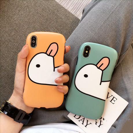 【N336】★ iPhone 6 / 6sPlus / 7 / 7Plus / 8 / 8Plus / X /XS /XR/Xs max★ シェルカバーケース Duckカップル