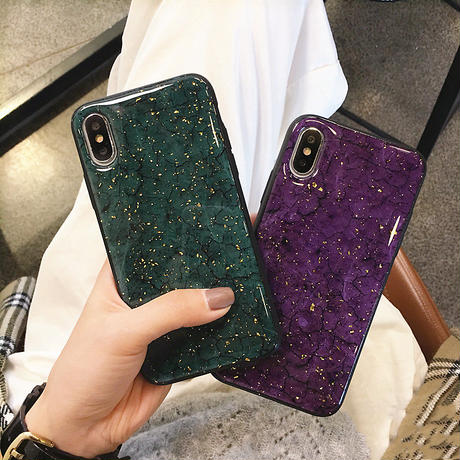 【M259】★ iPhone 6s / 6sPlus / 7 / 7Plus / 8 / 8Plus / X / XS / Xr /Xsmax★ シェルカバーケース Glittler Purple