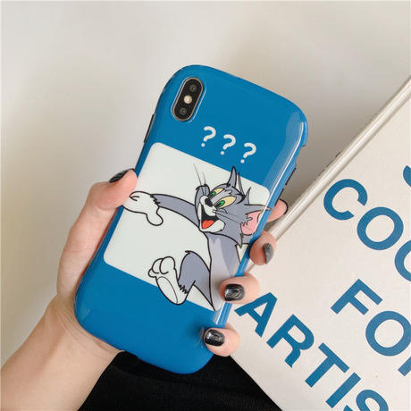 【N770】★ iPhone 6 / 6sPlus / 7 / 7Plus / 8 / 8Plus / X /XS /XR/Xs max★ シェルカバーケース TOM and JERRY
