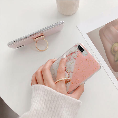 【N119】★ iPhone 6 / 6sPlus / 7 / 7Plus / 8 / 8Plus / X /XS /XR/Xs max★ シェルカバーケース Ring Holder