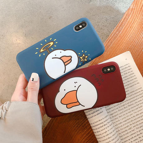 【M147】★ iPhone 6 / 6sPlus / 7 / 7Plus / 8 / 8Plus / X/XS / Xr /Xsmax ★ シェルカバー ケース 🦆 duckyduck