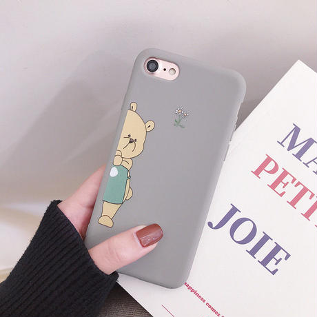 【N263】★ iPhone 6s / 6sPlus / 7 / 7Plus / 8 / 8Plus / X / XS/XR/XsMax ★  iPhone ケース Bear