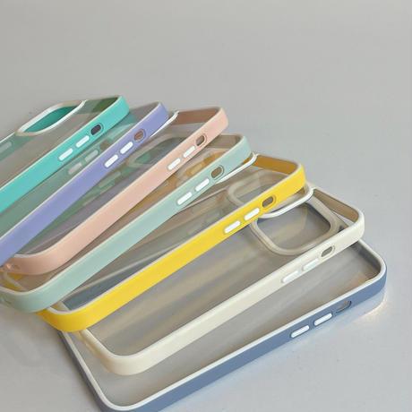 【D064】★ iPhone 13/13PRO/13MINI/12/12PRO/11/11Pro/11ProMax/7Plus/X/XS/XR/Xsmax ★  ケース candy color