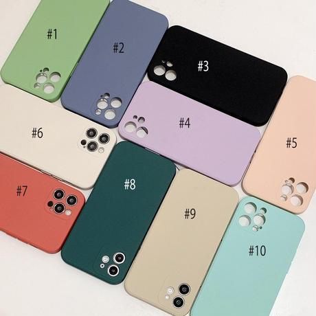 【C758】★ iPhone 12/12PRO/12MINI/SE/11/11Pro/11ProMax/7/7Plus/X/XS/XR/Xsmax ★  ケース シンプル