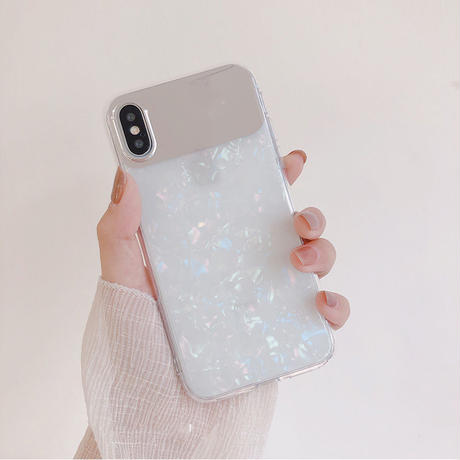【N279】★iPhone11/Pro/ProMax/ 6/ 6Plus / 6sPlus /7/7Plus / 8 / 8Plus / X / Xs ★iPhone ケース ミラー shell
