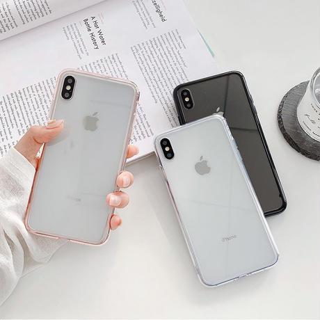 【N644】★ iPhone 7 / 7Plus / 8 / 8Plus / X /XS /XR/Xs max★ シェルカバーケース クリア