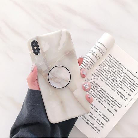 【N787】★ iPhone 6 / 6sPlus / 7 / 7Plus / 8 / 8Plus / X /XS /XR/Xs max★ シェルカバーケース Marble Case