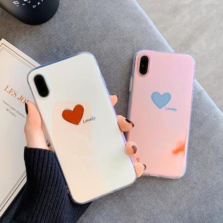 【N403】★ iPhone 6 / 6sPlus / 7 / 7Plus / 8 / 8Plus / X /XS /XR/Xs max★ シェルカバーケースHeart