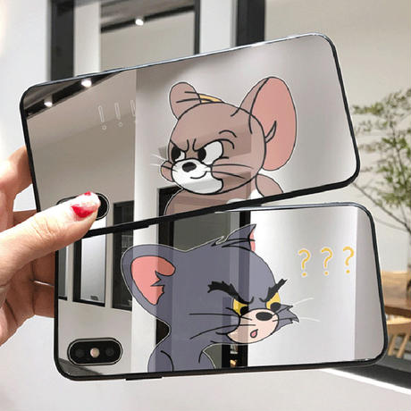 【N771】★ iPhone11/Pro/ProMax/6 /6sPlus /7/7Plus /8/ 8Plus / X /XS /XR/Xs max★ シェルカバーケース TOM and JERRY