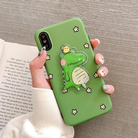 【N385】★iPhone 6 / 6s / 6Plus / 6sPlus / 7 / 7Plus / 8 / 8Plus / X / Xs ★iPhone ケース Green