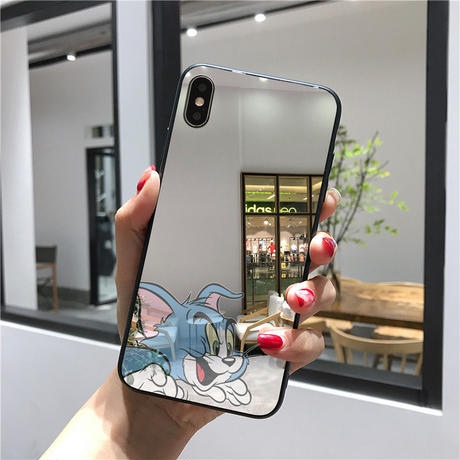 【N774】★ iPhone 6 / 6sPlus / 7 / 7Plus / 8 / 8Plus / X /XS /XR/Xs max★ シェルカバーケース TOM and JERRY