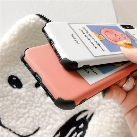 Charlie and Sally Brown iPhone case
