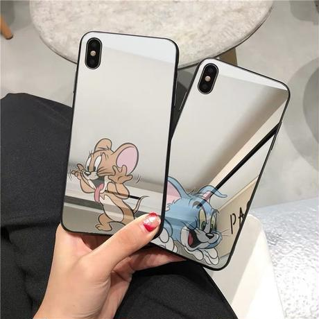 Mouse Cat Mirror iPhone Case
