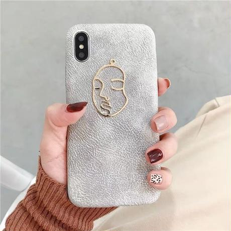Metal Face iPhone case