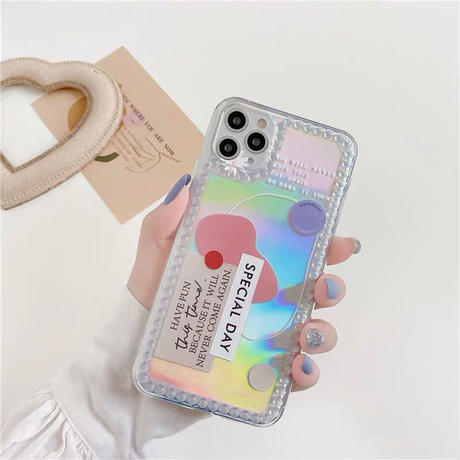 Special Day Laser iPhone case