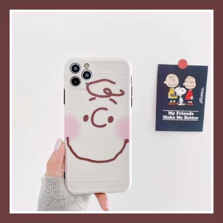 White Charlie iPhone case