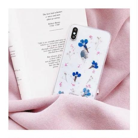 Dry Flower III Clear iPhone case