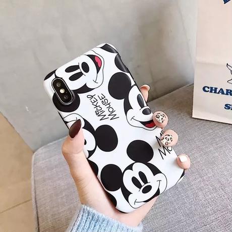【Disney】Mickey Monochrome iPhone case