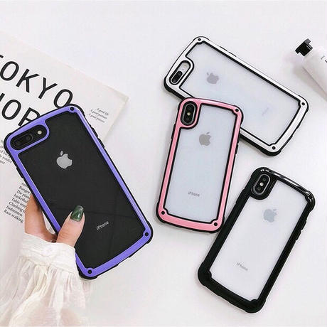 Simple Color Frame iPhone case