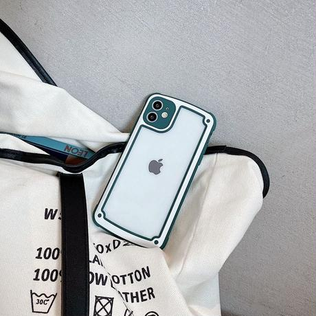 Matte White Color Side iPhone case