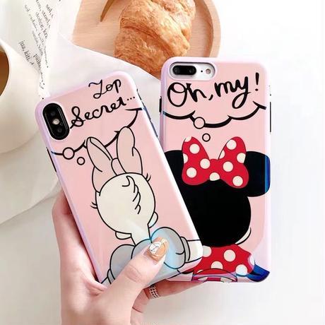 【Disney】Girl's Back iPhone case
