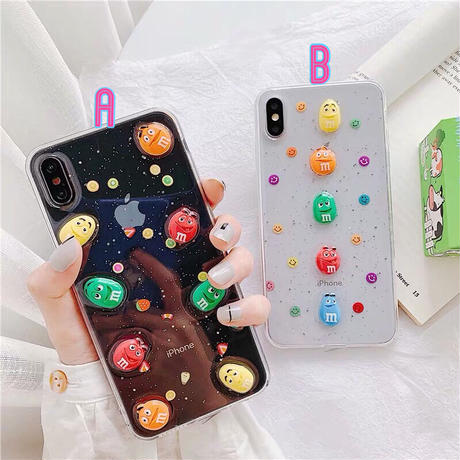 M Color Chocolate iPhone case