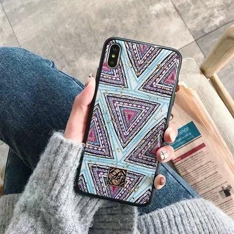 Purple Blue Ethnic iPhone case