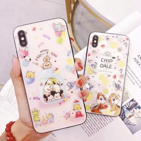 【Disney】Tsum Tsum Chip and Dale  iPhone case