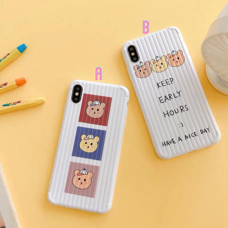 Color Bears iPhone case