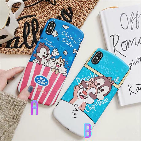 【Disney】Chip 'n' Dale iPhone case