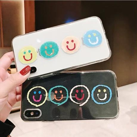 Full Smiling Clear iPhone case
