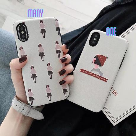 Fashion Girl iPhone case