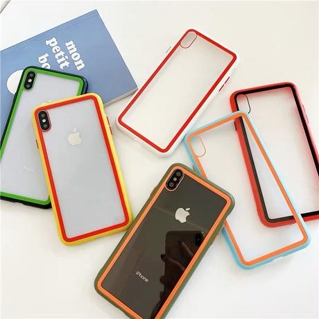 Contrast Colors iPhone case