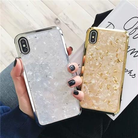 Sliver Gold Marble iPhone case