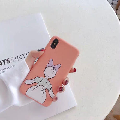 【Disney】Donald&Daisy Duck iPhone case