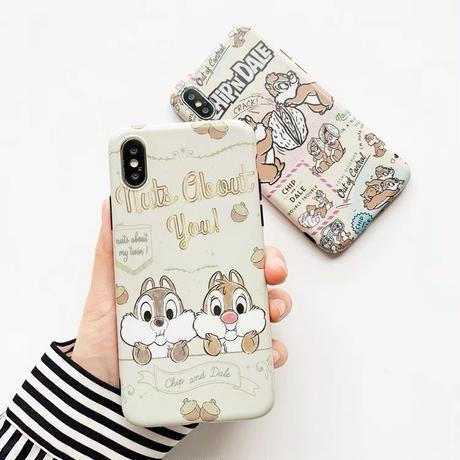 【Disney】Chip N Dale iPhone case