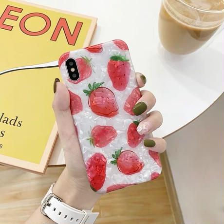 Strawberry Shell iPhone case