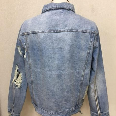 GOTHAM【ゴッサム】GO-076 DAMEGE DENIM BLOUSON