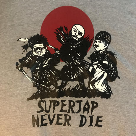 """""""SUPERJAP NEVER DIE""""パーカー"""