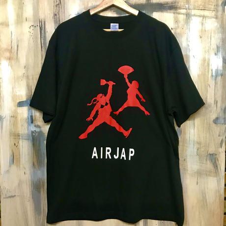 AIRJAP Tシャツ(ブラック)