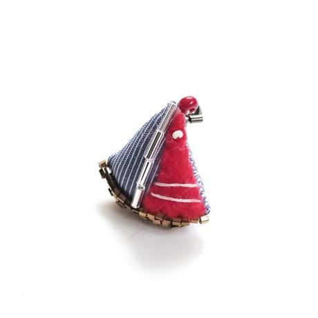 Miniature Yacht Brooch