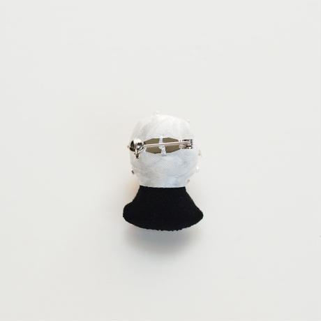 Miniature Snow Globe Brooch(Heart)