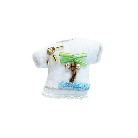 Miniature T-shirt Brooch(island)