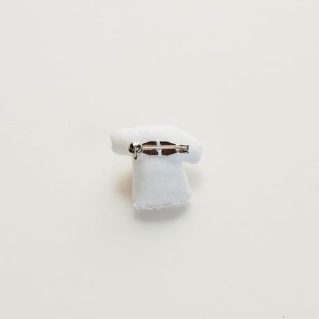 Miniature T-shirt Brooch(potato)