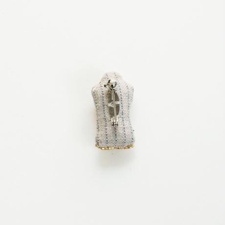 Miniature Suntan Oil Brooch